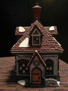 Dept 56 Dickens Village Christmas Village Houses, Christmas Villages, Dept 56 Dickens Village, Santa's Village, Department 56, Christmas Carol, Villas, Holiday Recipes, Fairies