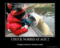 Chuck Norris at age 2
