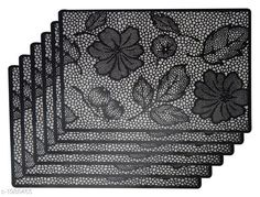 Checkout this latest Table Runner_500 Product Name: *LooMantha PVC Fridge Mat Pack of 6 * Material : PVC Size ( L X B ) : 18 In X 12 In Ideal For : Fridge  Table  Drawer Description : It Has 6 Pieces Of Table Placemat Work : Printed Country of Origin: India Easy Returns Available In Case Of Any Issue   Catalog Rating: ★4.1 (264)  Catalog Name: Ideal Table Placemats Vol 2 CatalogID_262707 C129-SC1127 Code: 441-1988465-342