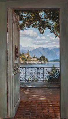 Summer painting class for muralists (Lynne Rutter Studio USA) Pascal Amblard teacher