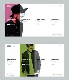 Saved by Inspirationde (inspirationde). Discover more of the best Web, Design, Asos, Top, and 5 inspiration on Designspiration Website Design Inspiration, Great Website Design, Website Design Layout, Web Layout, Layout Design, Modern Web Design, Best Web Design, App Design, Graphic Design