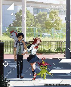 """僕たちのデジタルワールド: [BD] Digimon Adventure Tri. Chapter 2: """"Ketsui"""" cover art"""