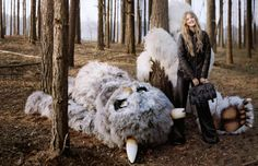 Lindsey Wixson for Mulberry Fall 2012 by Tim Walker (4)