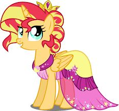 """mlp princess sunset shimmer"""