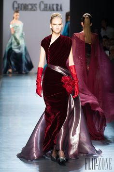 Georges Chakra Fall-winter 2014-2015 - Couture - http://www.orientpalms.com/georges-chakra-4814