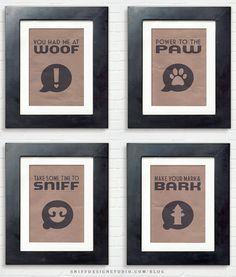 Free pet design dog artwork download