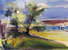 Apple Tree at Fish Bay by Randolph