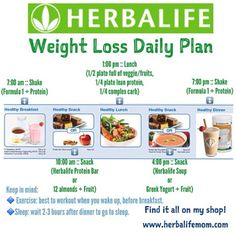 Herbalife Weight Loss Results | Positive Weight Loss Results = Eat Clean + Follow the Herbalife Meal ...