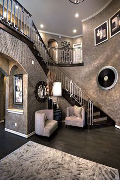 50 best house interior design to transfrom your house 47 ⋆ All About Home Decor Dream Home Design, My Dream Home, Home Interior Design, House Design, Luxury Interior, Modern Interior, Decoration Chic, Decoration Design, House Goals
