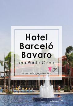 Punta Cana: Hotel Barceló Bávaro Palace Deluxe - Amor na Bagagem Barcelo Bavaro Palace Deluxe, Punta Cana Hotels, Baggage, Viajes, Amor, Grey Hair, Hotels, Hamster Wheel, Cute