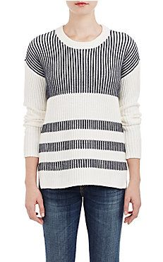 Barneys New York Striped Sweater