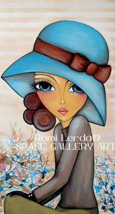 Kunstjournal Inspiration, Arte Pop, Eye Art, Art Drawings Sketches, Whimsical Art, Fabric Painting, Art Pictures, Art Girl, Watercolor Art