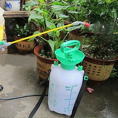 KAMOLTECH 5L Garden Hand Pressure Backpack Sprayer Watering Can Pump Sprayer *** Learn more by visiting the image link.