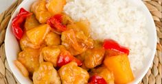 Everyone loves sweet and sour chicken and using the slow cooker for this dish is so straightforward...