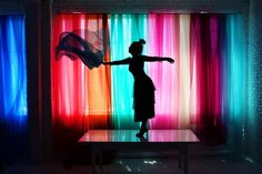 colorful curtains   designlovefest + max wanger