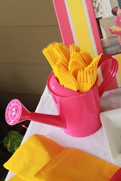 Pink Lemonade 1st Birthday Party! Could use these ideas for a little miss sunshine party