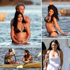 Vanessa Hudgens Wraps Up a Bikini-Filled Hawaiian Journey Vanessa Hudgens let loose off the shores of Oahu on Saturday with boyfriend Austin Butler. The couple paddled around the lagoon close to their resort then Vanessa Hudgens Body, Estilo Vanessa Hudgens, Vanessa Hudgens And Austin Butler, How To Look Attractive, How To Look Pretty, How To Look Better, Hawaii Pictures, Cute Couples Goals, Couple Goals Teenagers