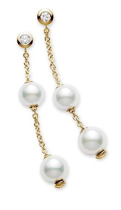 Mikimoto #Pearls in Motion Earrings