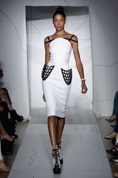 3ders.org - Fashion Designer Chromat's Spring/Summer 2015 line to include 3D printed outfits | 3D Printer News & 3D Printing News