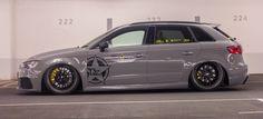 Sportlich hoch 2: Verschärftes Tuning-Setup für den Ingolstädter: Der Audi RS3…