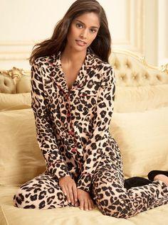 Soma's Embraceable leopard pajamas