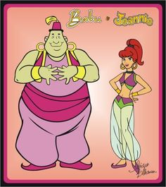 Yabble Dabble! It's Jeannie and Babu!