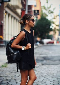 Grown-Up Backpack on Posh & Poised, featuring Sincerely Jules http://sincerelyjules.com/tag/backpack
