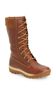 Timberland 'Woodhaven' Waterproof Lace-Up Boot (Women)
