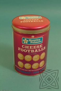 cheese football snacks. a genuine christmas treat in our house in the 70s!
