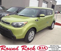 #HappyAnniversary to Charles  Cochran on your 2014 #Kia #Soul from Everyone at Round Rock Kia!