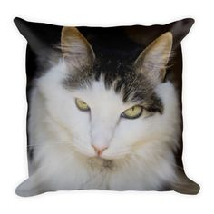 """This soft pillow is an excellent addition that gives character to any space. It comes with a soft polyester insert that will retain its shape after many uses, and the pillow case can be easily machine washed. And it's completely cut, sewn and printed in the USA. • 18""""x18"""" • machine washable cover • concealed…"""