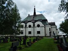 Lutheran church Alavus, Finland.
