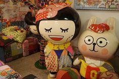 Hong Kong kawaii toys, stationery and gifts at Chocolate Rain, PMQ artist studo. More photos >> http://www.lacarmina.com/blog/2015/02/hong-kong-pmq-shops-refinery-boutique/  cute toy store