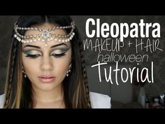 Tutorial | Cleopatra Inspired Makeup + Hair | Kaushal Beauty - YouTube