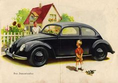 "chromjuwelen: "" Der KDF Wagen (orig. Prospekt 1938/1939). Via aircooled-village.blogspot.com. """