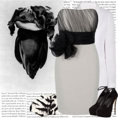 Outfits inspired by art <3 Prom.