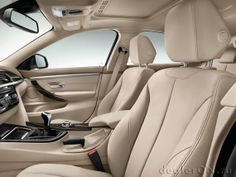 Интерьер БМВ Гран купе 4-серии 2015 / BMW 4-Series Gran Coupe 2015