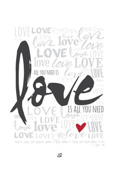 LostBumblebee ©2014 Love 1 John 4:16 Free Printable- Personal Use Only.