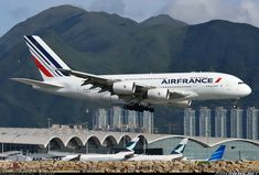 Air France F-HPJH Airbus A380-861 aircraft picture