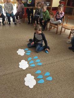 Weather Activities Preschool, Preschool Education, Spring Activities, Preschool Learning, Kindergarten Math, Classroom Activities, Activities For Kids, Kids Daycare, Daycare Crafts