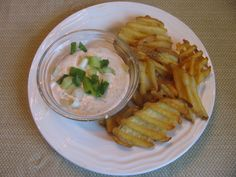 Seasoned Sour Cream/Waffle Fries Dip   Living in White Bear Lake