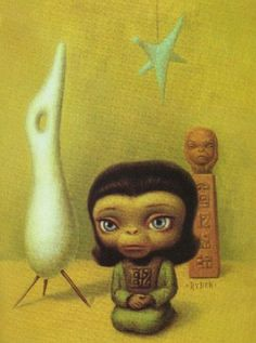 Planet of the Apes, by Mark Ryden. (Thanks to Wolfgang for sending this to me).
