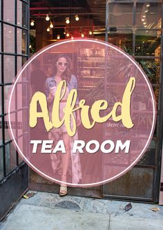 The first time I went to Alfred's Coffee shop was sometime last year. They have a handful of coffee shops around LA and it has become a fashion blogger's hotspot.