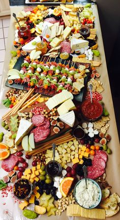 #cheese platter #cheese plate #delicious # fruit and cheese # meat and cheese #wedding # baby shower #party meals