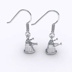 The Official Doctor Who Anniversary Jewelry Collection. I would kill for TARDIS earrings Anniversary Jewelry, 50th Anniversary, Dr Who, Bbc Doctor Who, By Any Means Necessary, Don't Blink, Dalek, Geek Chic, Tardis