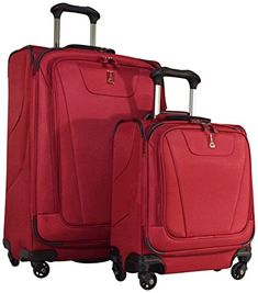 457c624c6 Luggage Sets Collections | Travelpro Maxlite 4 2Piece Luggage Set 25 Expandable  Spinner Under Seat Bag Carry On Merlot * Check out this great product.