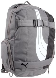 7f329e33174 Puma Barricade PMAM1058 Backpack,Grey,One Size PUMA.  60.00 Fashion  Outfits, Handbags