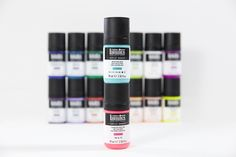 What's different about Acrylic Gouache? Is it the matte, flat finish? Its superb permanence and water resistance? Opacity dialed up to the optimum level of each pigment? Or its non-cracking, intensely pigmented color? Fabric Painting, Painting On Wood, Liquitex, Gouache, Arts And Crafts, Lipstick, Flat, Canvas, Water