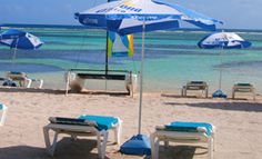 Costa Maya beach break All Inclusive at Nohoch Kay...read that they only allow 40 a day on their beach (excursion is $40 for lunch, drinks, chairs, umbrellas)
