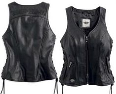 Harley-Davidson® Women's Avenue Leather Vest 98071-14VW